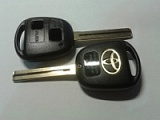 TOYO-30P_*_TOY48P_* logo Toyota Inner Milling 2 Button Remote Key Blank (2 кн)